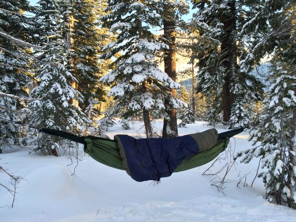 staying warm hammock camping tip #1, battling cold butt syndrome with an underquilt and top quilt