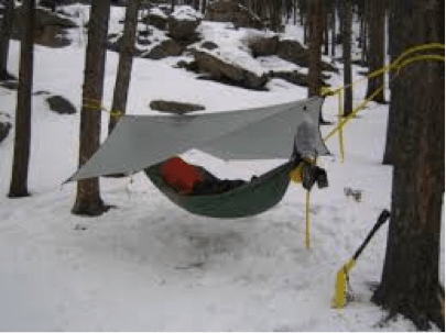 winter hammock tarp setup - Winter Camping Essentials: 3 Hacks To Staying Cozy - Serac Hammocks