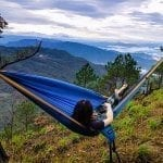 serac sequoia xl double camping hammock daybreak color