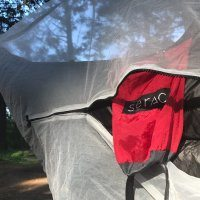 serac ultralight dartfrog mosquito and bug net double sided zipper
