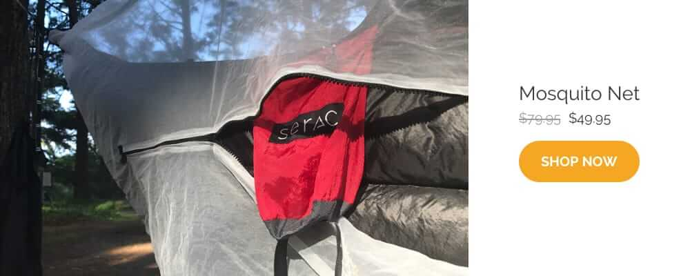 serac mosquito bug net set up