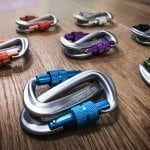 gecko grip carabiners all colors