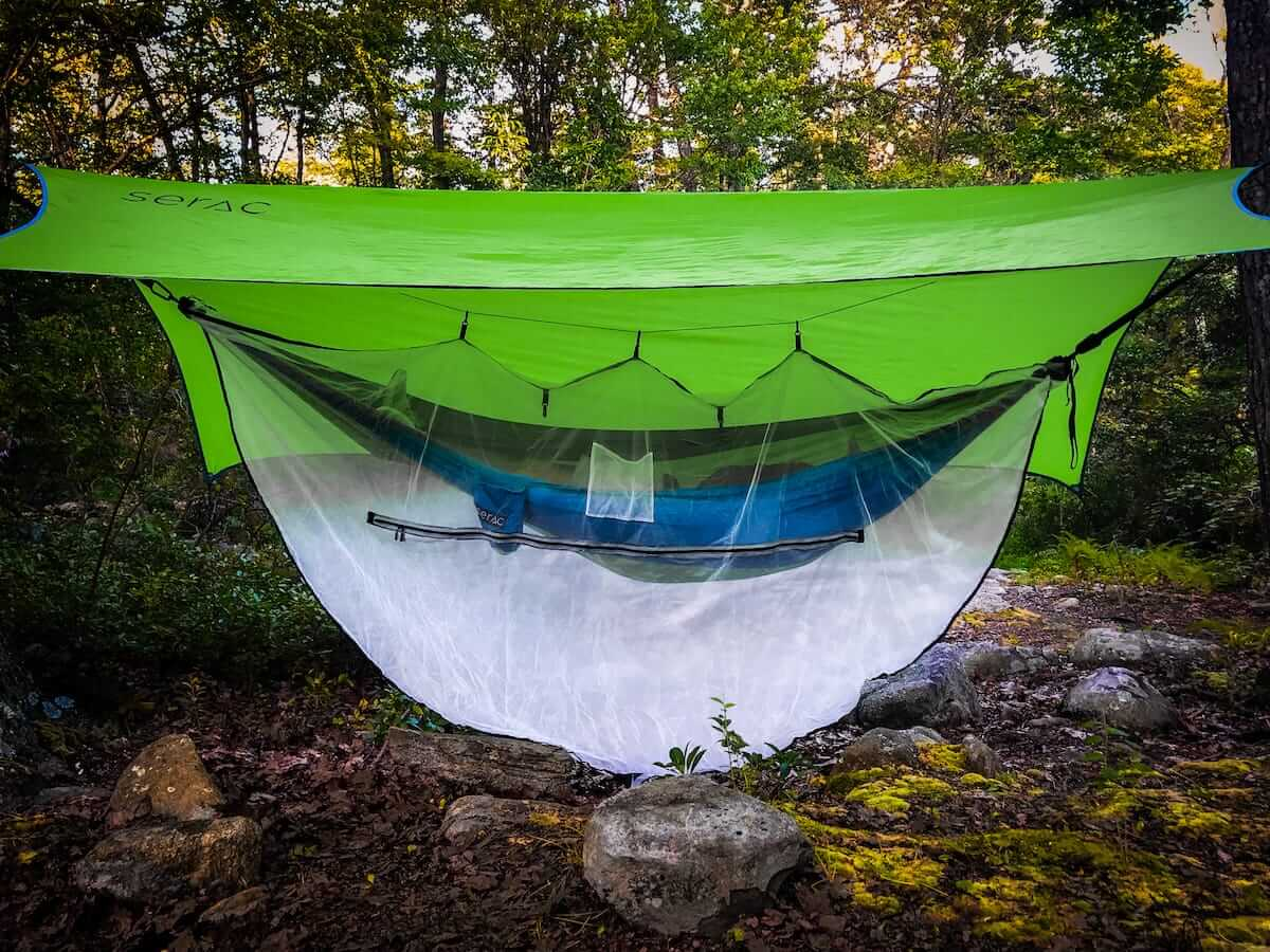 Serac Dartfrog Bug Net Serac Hammocks