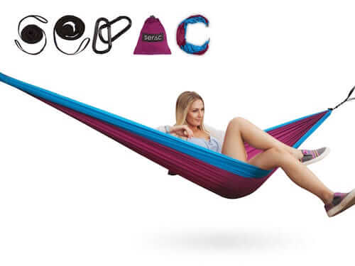 single hammock  u2022 from 39 95 best camping hammocks ultralight and portable by serac  rh   exploreserac